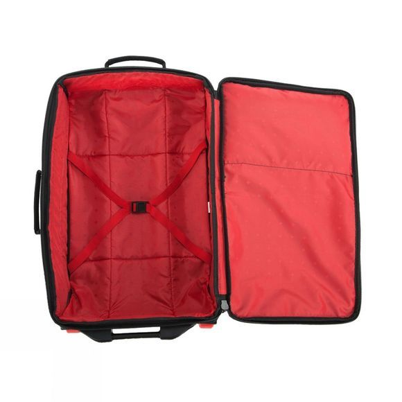 Snow and Rock 35L Carry On Wheelie Black / Red