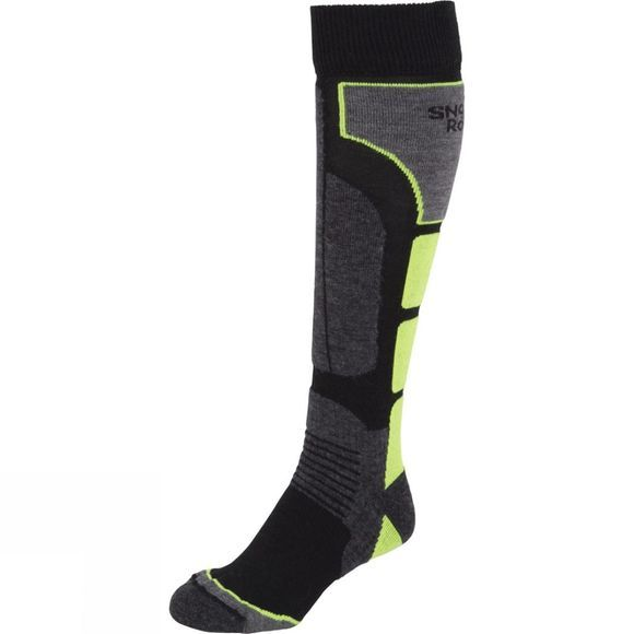 Snow and Rock Board Zone Socks Black          /Black Trim