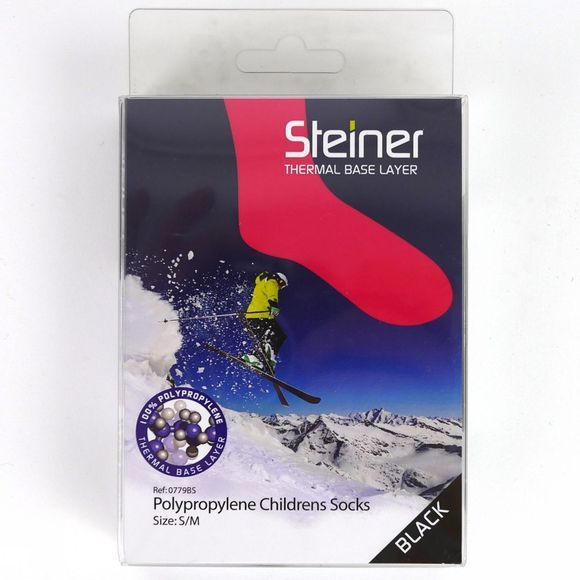 Steiner Winter Thermal Socks Black