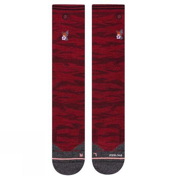 Stance Womens Easy Rider Socks RED