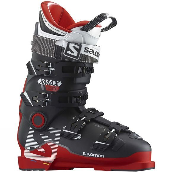 Salomon Men's X Max 100 Ski Boots Red/Red Marl