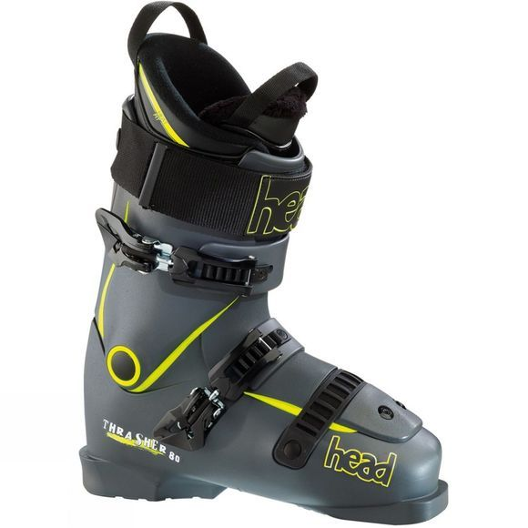 Head Men's Thrasher 80 Ski Boot Black          /Yellow