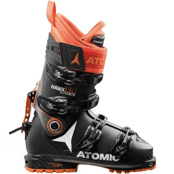 Atomic Mens Hawx Ultra XTD 130 Ski Touring Boot Black / Anthracite / Orange