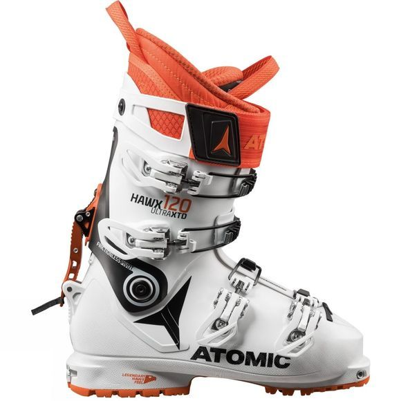 Atomic Mens Hawx Ultra XTD 120 Ski Touring Boots White / Black / Orange