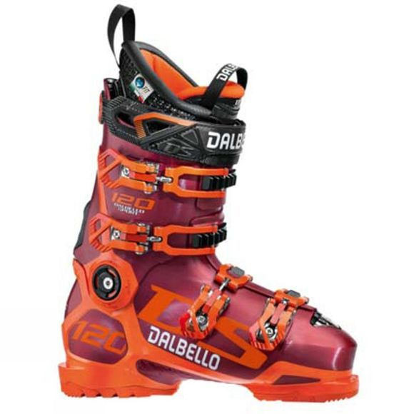 Dalbello Mens DS 120 Ski Boots Red / Orange