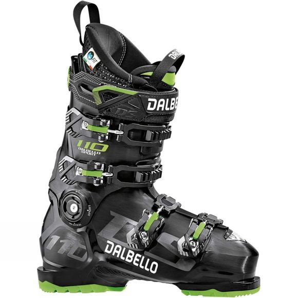 Dalbello Mens DS 110 Ski Boot Black / Green