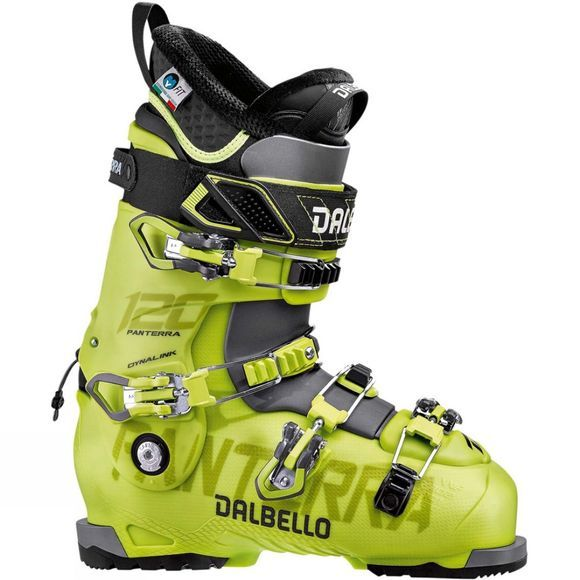 Dalbello Mens Panterra 120 Ski Boots Acid Yellow / Anthracite