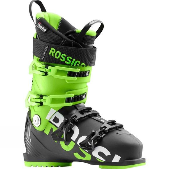 Rossignol Mens Allspeed 100 Ski Boot Black / Green