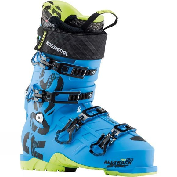 Rossignol Mens Alltrack Pro 120 Ski Boot Blue / Yellow