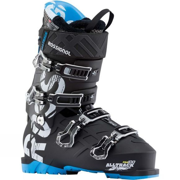 Rossignol Mens Alltrack Pro 100 Ski Boot Black / Blue