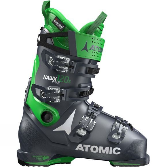 Atomic Mens Hawx Prime 120 S Ski Boot Dark Blue / Green