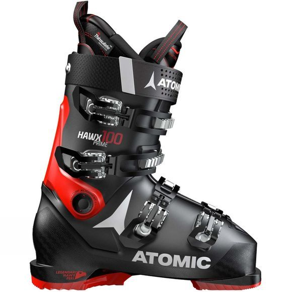 Atomic Mens Hawx Prime 100 Ski Boot Black / Red