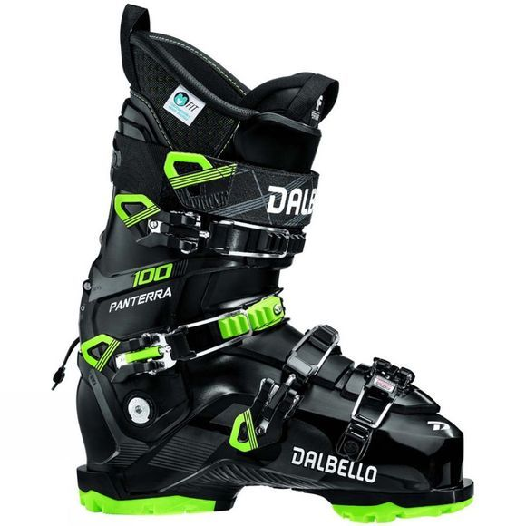 Dalbello Men's Panterra 100 GW Ski Boot Black / Lime