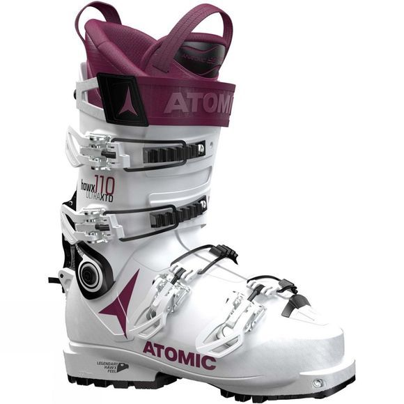 Atomic Womens Hawx Ultra XTD 110 W Ski Boot White / Black / Purple