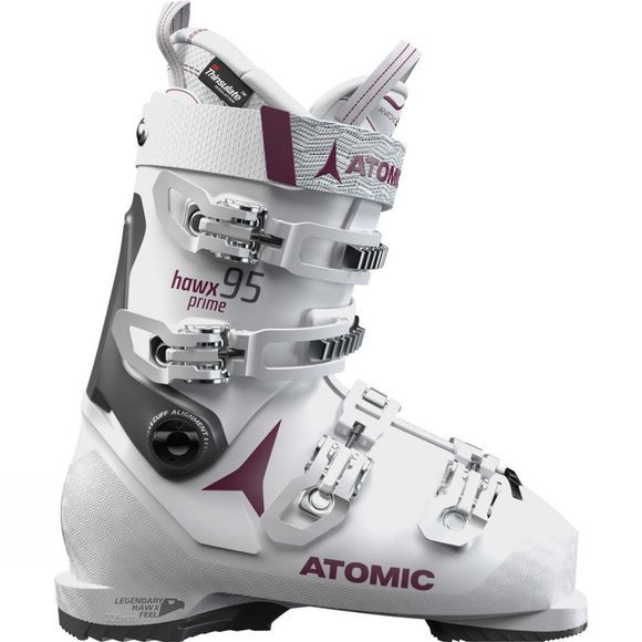 Atomic Womens Hawx Prime 95 W Ski Boot White / Purple