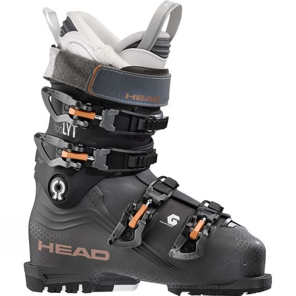Head Women's Nexo LYT 100W Ski Boot Anthracite/Black