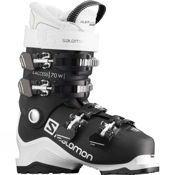 Salomon Women's X Access 70W Ski Boot Black White