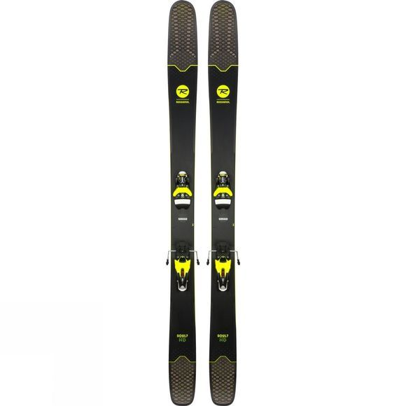 Rossignol Soul 7 HD Skis - (Ski Only) BLACK/YELLOW