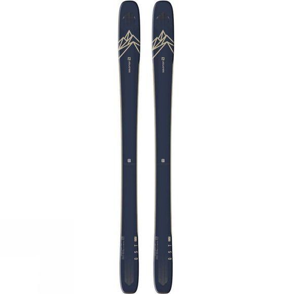 Salomon Mens QST 99 Ski (Ski Only) Dark blue