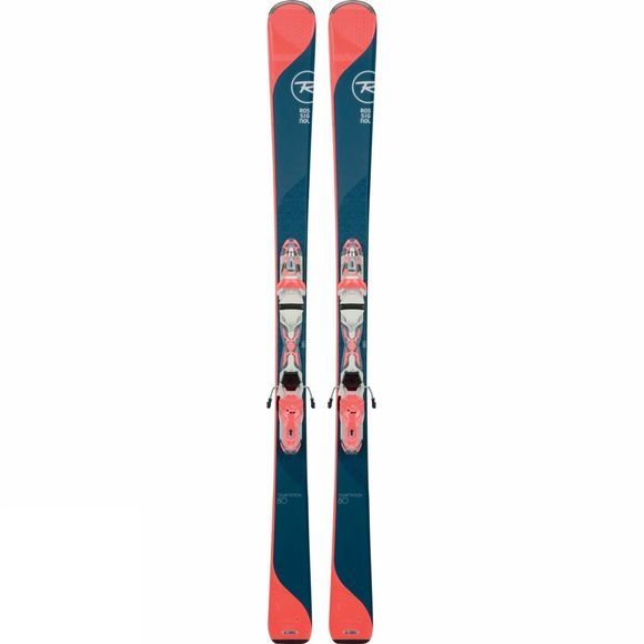 Womens Temptation 80 Skis with XPress W10 Bindings