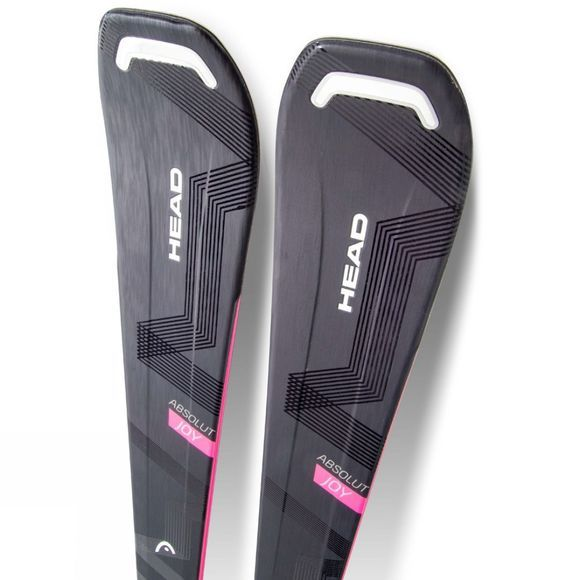 Head Womens Absolut Joy Ski with Joy 9 GW Binding Black / Pink