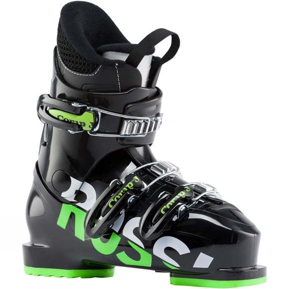 Rossignol Kid's Comp J3 Ski Boots Black / Green