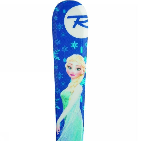 Rossignol Kids Frozen Skis - With Kids X 4 Bindings BLUE