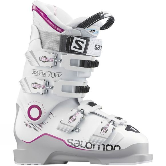 Salomon Women's X Max 70w Ski Boot Mid Grey