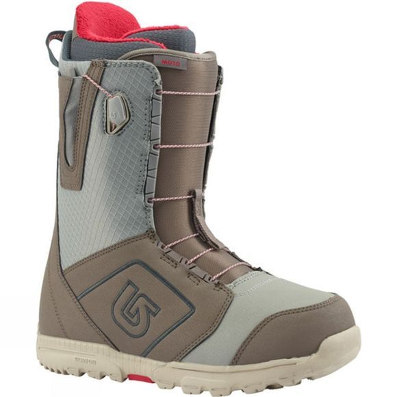 Burton Men's Moto Snowboard Boot Grey