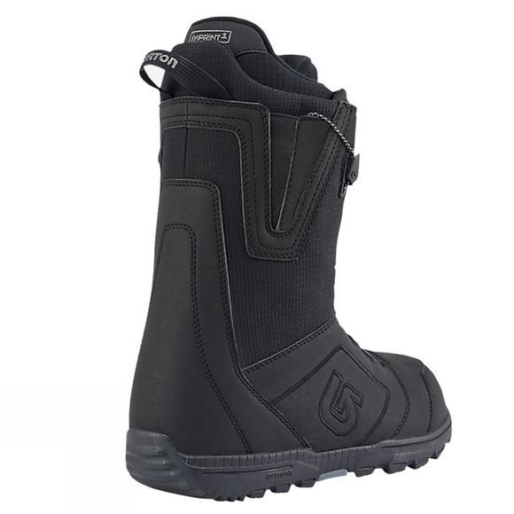 Burton Men's Moto Snowboard Boot Black