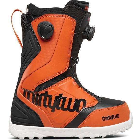 Thirty Two Lashed Double Boa Snowboard Boots Black / Orange