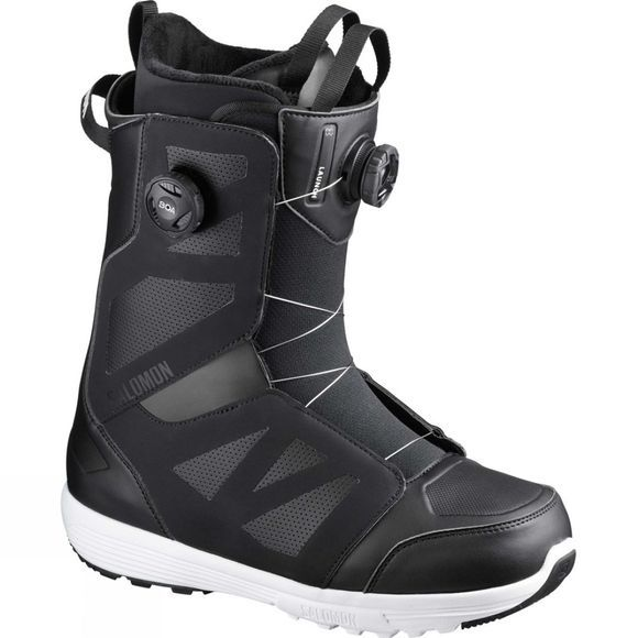 Salomon Mens Launch Boa STR8JKT Boot Black