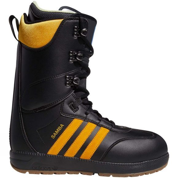 Adidas Mens Samba ADV Snowboard Boot Core Black / Collegiate Gold / Gum5