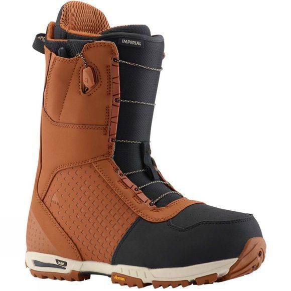 Burton Mens Imperial Snowboard Boot Brown/Black