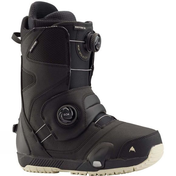 Burton Mens Photon Step On Boots + Binding Package Black + Black