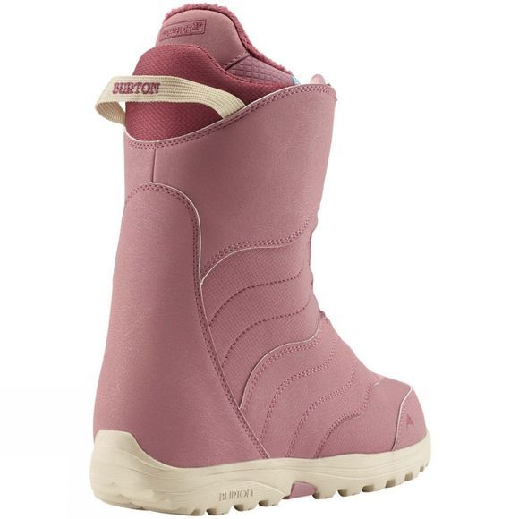 Burton Womens Mint Boa Snowboard Boot Dusty Rose