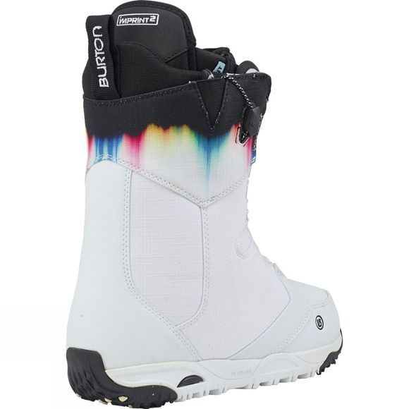 Burton Womens Limelight Snowboard Boot White / Spectrum