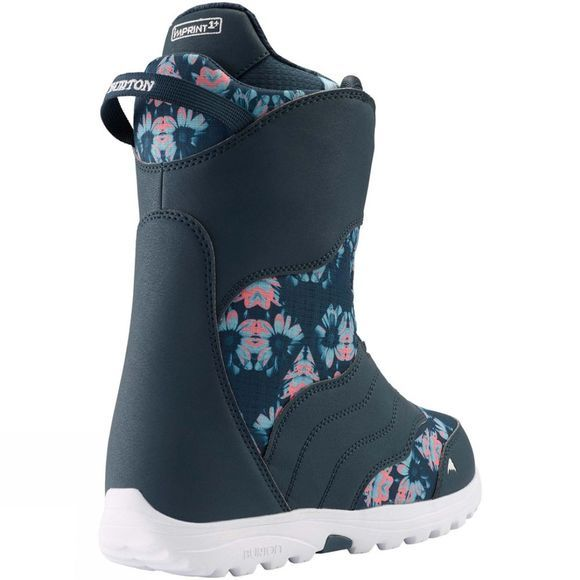 Burton Womens Mint BOA Snowboard Boot Midnite Blue / Multi