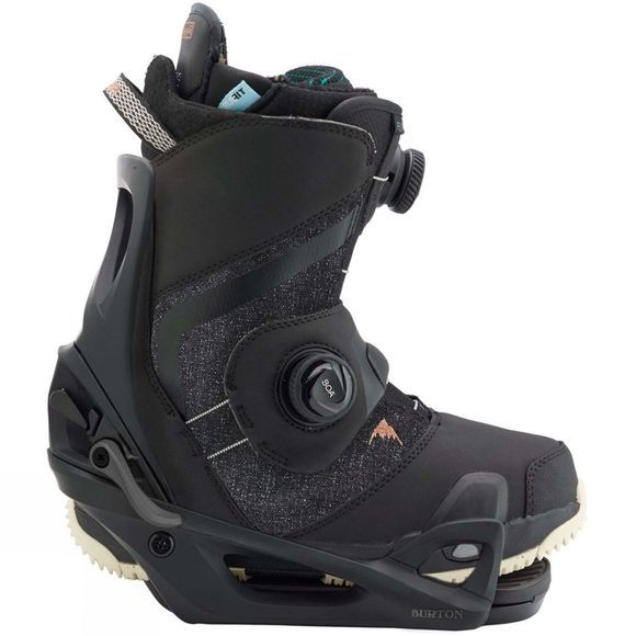 Burton Womens Felix Step On Boot + Binding Package Black + Black Shift