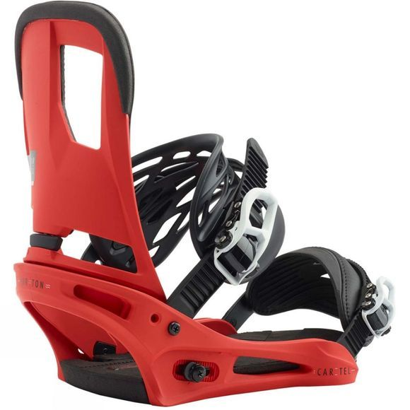 Burton Cartel Snowboard Bindings Red
