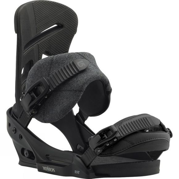 Burton Mission EST Snowboard Bindings black