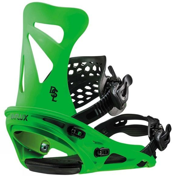 Flux Mens DSL Binding Neon Green