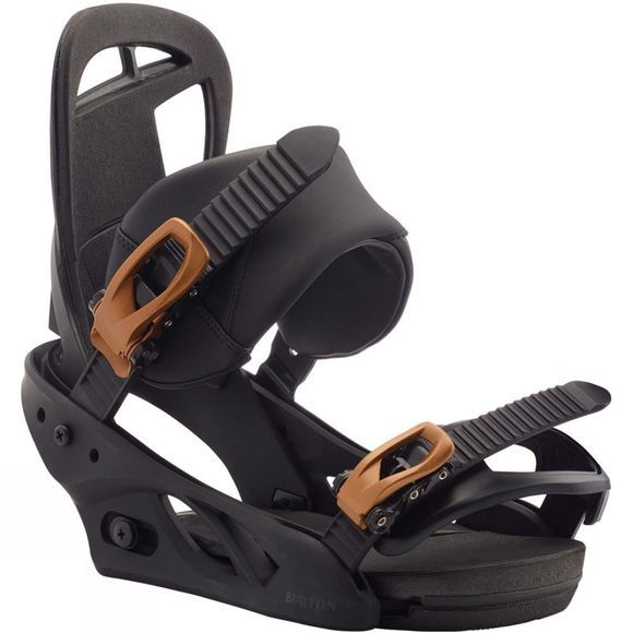 Burton Womens Scribe Re:Flex Snowboard Binding Black