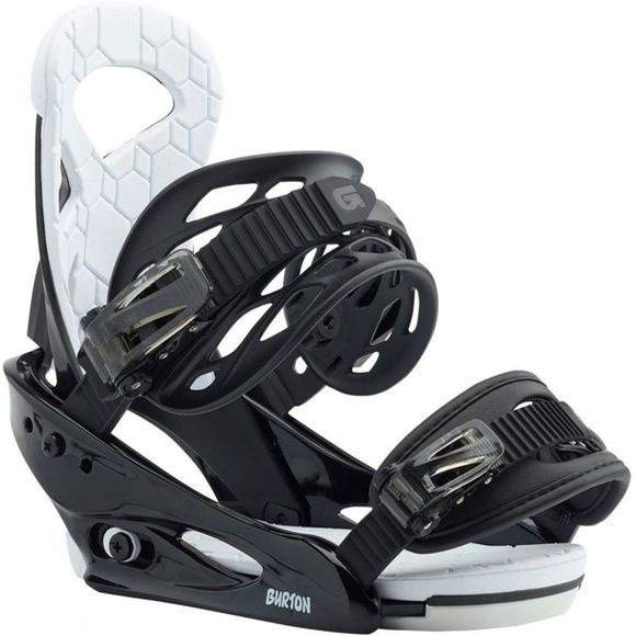 Burton Kids Smalls Snowboard Bindings Black