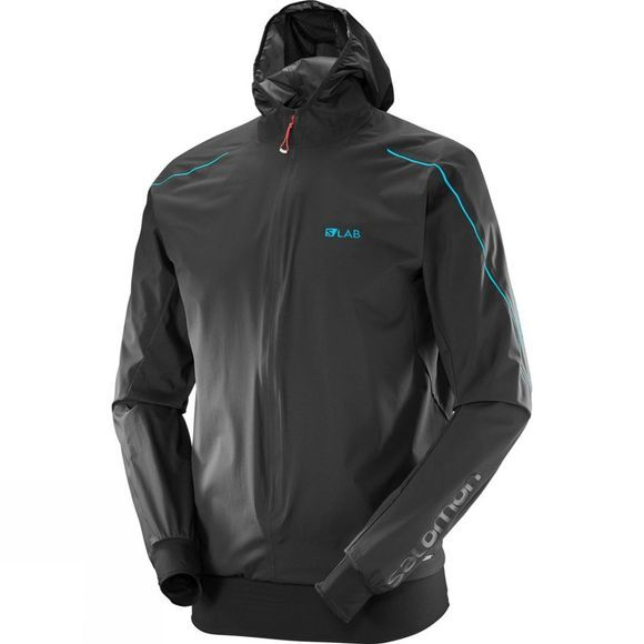 Salomon Mens S/Lab Hybrid Jacket Black