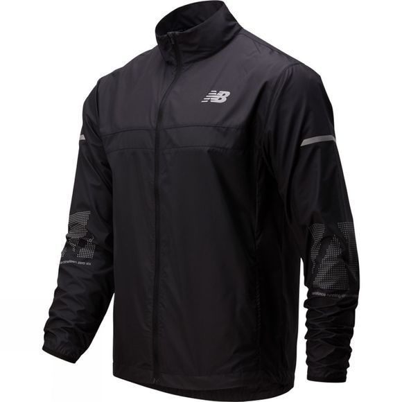 New Balance Reflective Accelerate Jacket Black