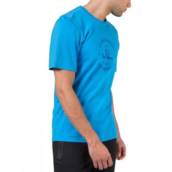 Mens Cotton T-Shirt Liquid Jersey