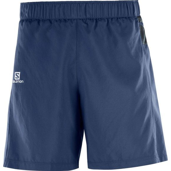 Salomon Men's Trail Runner Shorts Dress Blue