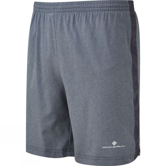 Ronhill Mens Momentum 7in Shorts Grey Marl