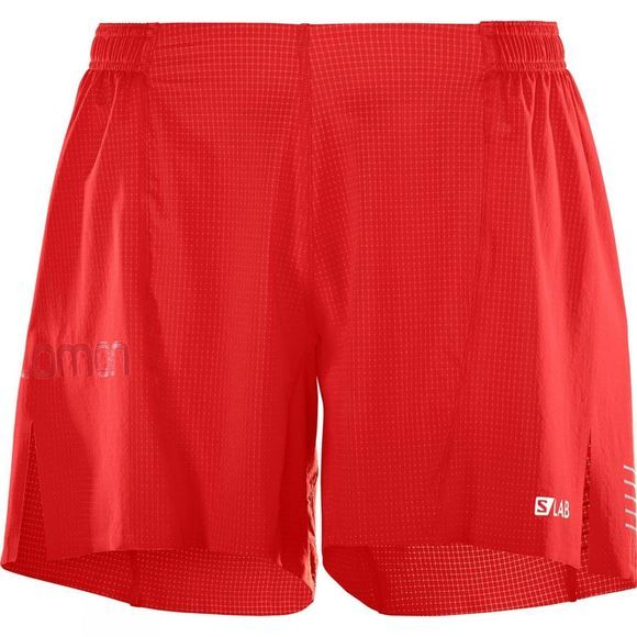 Salomon Mens S/Lab Short 6 Racing Red